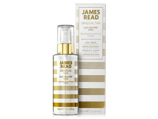 Спрей для лица — освежающее сияние H2O H21:78O Tan Mist Face 100ml — James Read Уход за лицом Фотография
