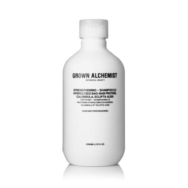 Укрепляющий шампунь для волос — Grown Alchemist Уход за телом Фотография