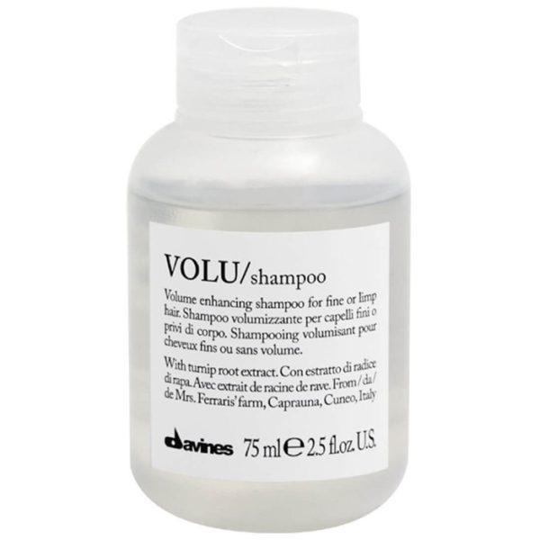 VOLU/shampoo 75 мл  — шампунь для придания объема волосам  — Davines Уход за волосами Фотография