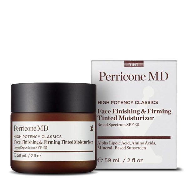 Уукрепляющий крем для лица с эффектом тонирования 59 мл — Perricon MD Уход за лицом Фотография