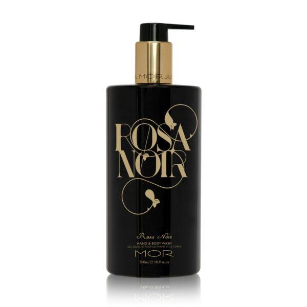 Гель-мыло для тела и рук Rosa Noir — Mor Уход за телом Фотография