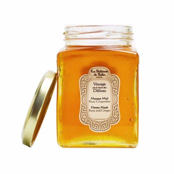 Маска для лица тонизирующая с медом 100мл — La Sultanе De Saba Уход за телом Фотография