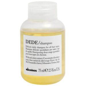 DEDE/shampoo 75 мл — Шампунь для деликатного очищения волос  — Davines Уход за волосами Фотография