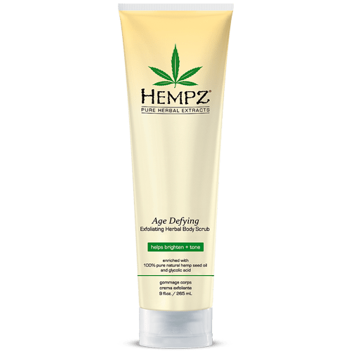 Скраб для тела Антивозрастной / Age Defying Herbal Body Scrub (265ml) — Hempz Уход за телом Фотография