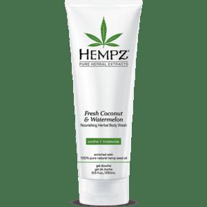 Гель для душа Кокос&Арбуз / Fresh Coconut&Watermelon Herbal Body Wash (250ml) — Hempz Уход за телом Фотография