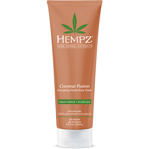 Гель для душа Бодрящий Кокос / Coconut Fusion Energizing Herbal Body Wash (250ml) — Hempz Уход за телом Фотография