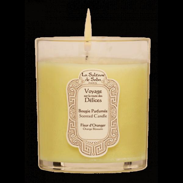 Свеча ароматическая «Апельсиновые цветы» — La Sultanе De Saba Аксессуары Фотография