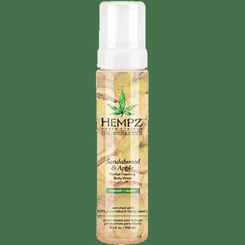 Гель-мусс для душа Сандал и Яблоко/Sandalwood & Apple Herbal Body Wash (250ml) — Hempz Уход за телом Фотография