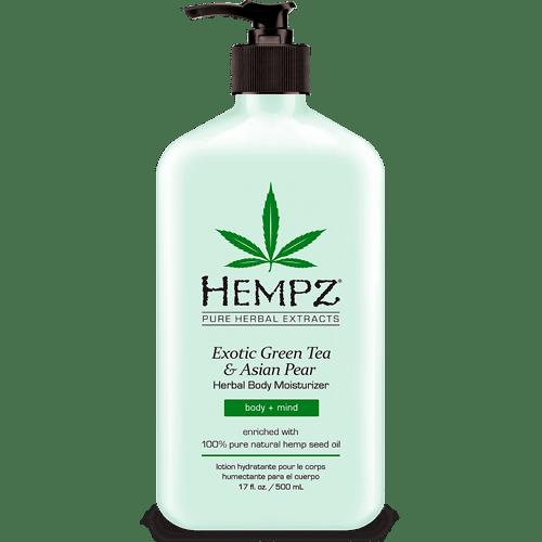 Молочко для тела увлажняющее Зеленый чай&Груша/Exotic Green Tea&Asian Pear Moisterizer (500ml) — Hempz Уход за телом Фотография
