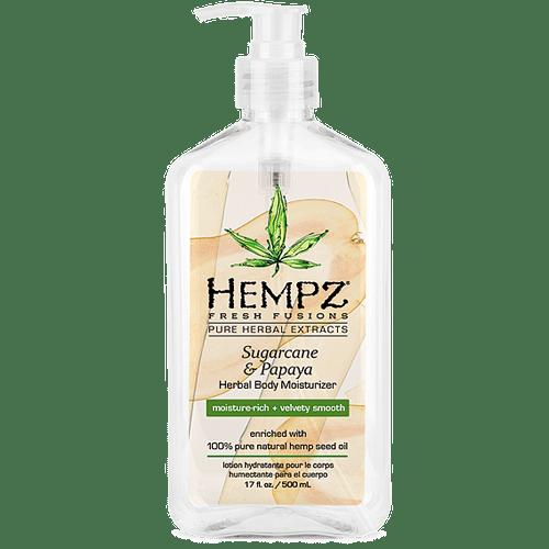Молочко для тела увлажняющее Сахарный тростник и Папайя/Sugarcane & Papaya (500ml) — Hempz Уход за телом Фотография