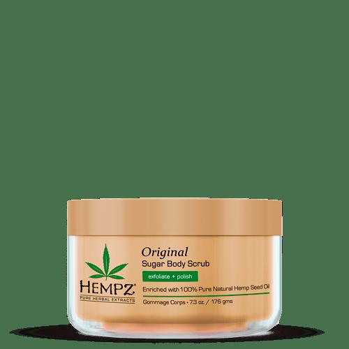 Скраб для тела Оригинальный / Original Herbal Sugar Body Scrub(176g) — Hempz Уход за телом Фотография