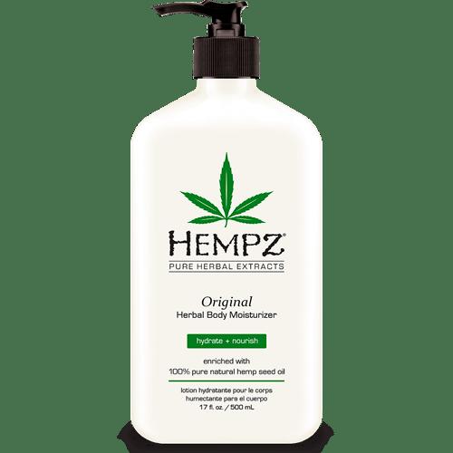 Молочко для тела увлажняюшее Оригинальное /  Original Herbal Body Moisturizer (500 ml) — Hempz Уход за телом Фотография