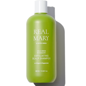 Глубоко очищающий и отшелушивающий шампунь с соком розмарина, 400 мл — Rated Green Уход за волосами Фотография
