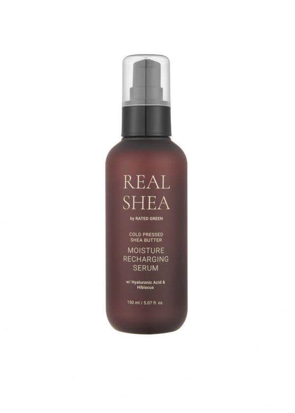 Увлажняющая сыворотка для волос с маслом ши, 150 мл — Rated Green Уход за волосами Фотография
