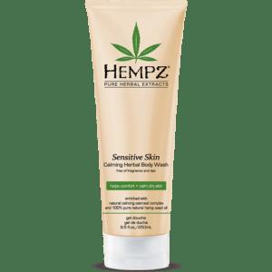 Гель для душа Чувствительная кожа / Sensitive Skin Calming Herbal Body Wash (250ml) — Hempz Уход за телом Фотография