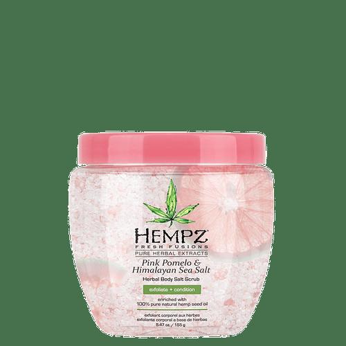Скраб для тела Помело и Гималайская соль /  Pink Pomelo & Himalyan Sea Sait Body Scrub (155gl) — Hempz Уход за телом Фотография