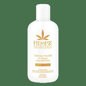 Гель для душа Имбирь и Ваниль Таити / Tahitian Vanilla&Ginger Herbal Body Wash (237ml) — Hempz Уход за телом Фотография