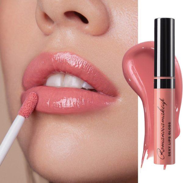 Блеск для губ Sexy Lips Gloss GLAMOROUS — Romanova make up Уход за лицом Фотография