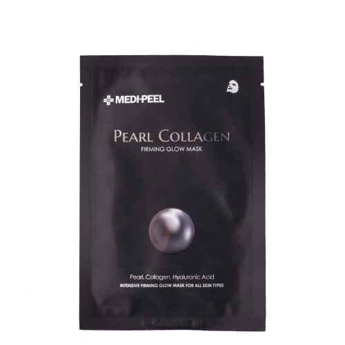 Pearl Collagen Mask (25ml) Разглаживающая маска с жемчугом и коллагеном — MEDI-PEEL Уход за лицом Фотография