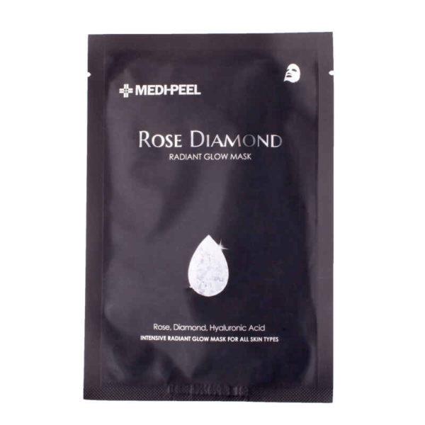 Rose Diamond Mask (25ml) Маска для сияния кожи с бриллиантовой крошкой — MEDI-PEEL Уход за лицом Фотография