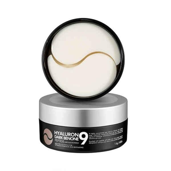 Hyaluron Dark Benone Peptide 9 Ampoule Eye Patch (60р) Патчи от темн. кругов с пептидами — MEDI-PEEL Уход за лицом Фотография