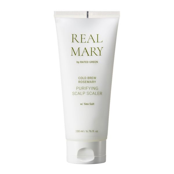 Очищающая и отшелушивающая маска для кожи головы с соком розмарина, 200 мл — Rated Green Уход за волосами Фотография