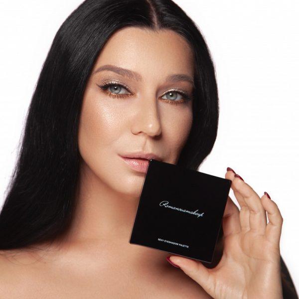 Палетка теней для глаз Sexy Eyeshadow Palette Spices & Cacao — Romanova make up Уход за лицом Фотография