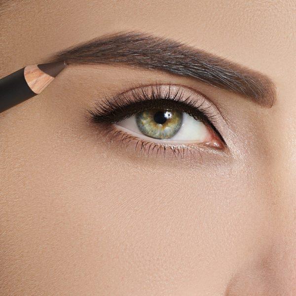 Карандаш для бровей Sexy Eyebrow Pencil BRUNETTE — Romanova make up Уход за лицом Фотография