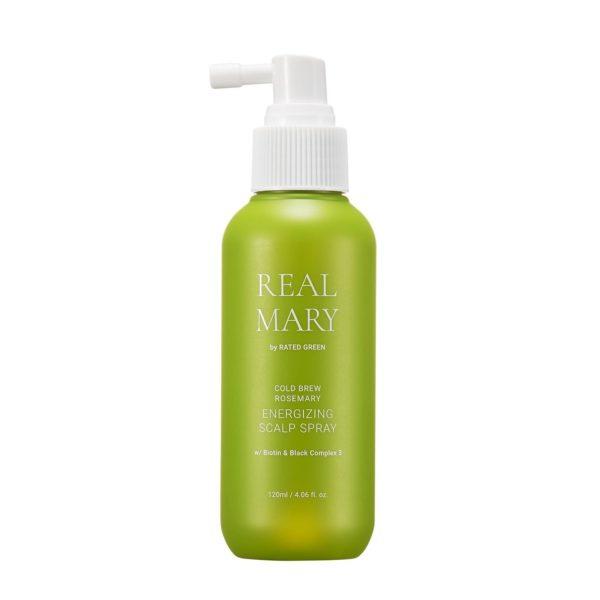 Регенерирующий спрей для кожи головы с соком розмарина, 120 мл — Rated Green Уход за волосами Фотография