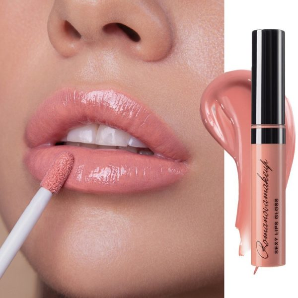Блеск для губ Sexy Lips Gloss ROMANTIC — Romanova make up Уход за лицом Фотография