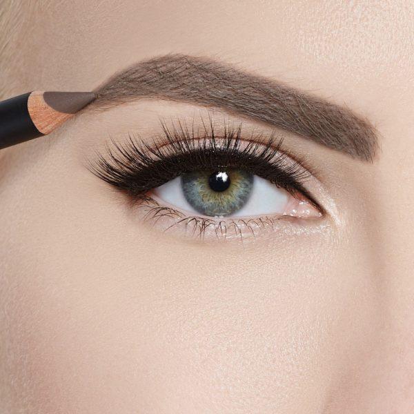 Карандаш для бровей Sexy Eyebrow Pencil TAUPE — Romanova make up Уход за лицом Фотография