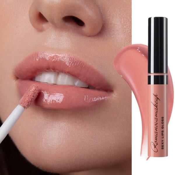 Блеск для губ Sexy Lips Gloss SENSUAL — Romanova make up Уход за лицом Фотография