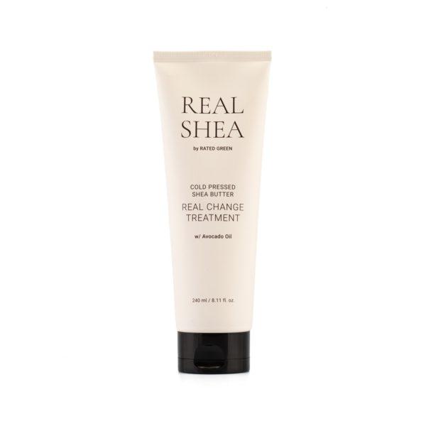 Питательная маска для волос с маслом ши, 240 мл — Rated Green Уход за волосами Фотография