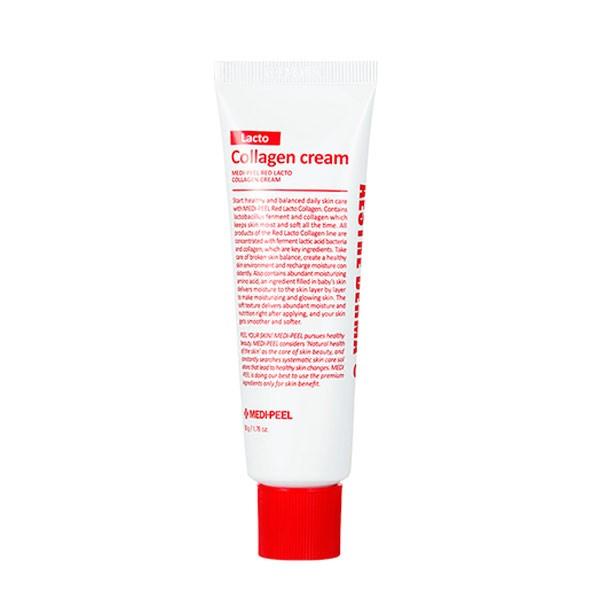 Red Lacto Collagen Cream (50ml) Крем с коллагеном и лактобактериями — MEDI-PEEL Уход за лицом Фотография