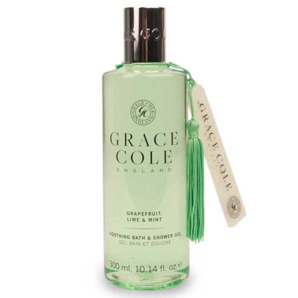 Гель для душа и ванны Грейпфрут, лайм и мята 250мл./Grapefruit Lime & Mint — Grace Cole Уход за телом Фотография