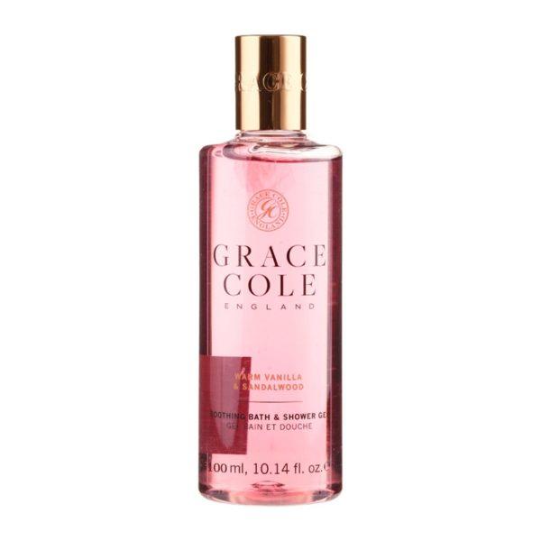 Grace Cole Travel Miniatures — гель для душа «Ваниль и сандал» 100 мл — Grace Cole Уход за телом Фотография