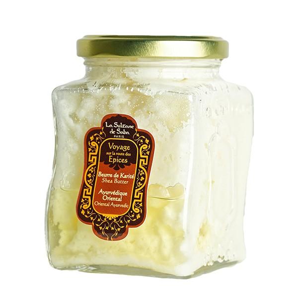 Масло твердое ореха Карите для тела Аюрведа 300мл — La Sultanе De Saba Уход за телом Фотография