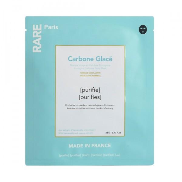 Очищающая Тканевая Маска Rare Paris Carbone Glacé Purifying Face Mask 1 шт — RARE Paris Уход за лицом Фотография