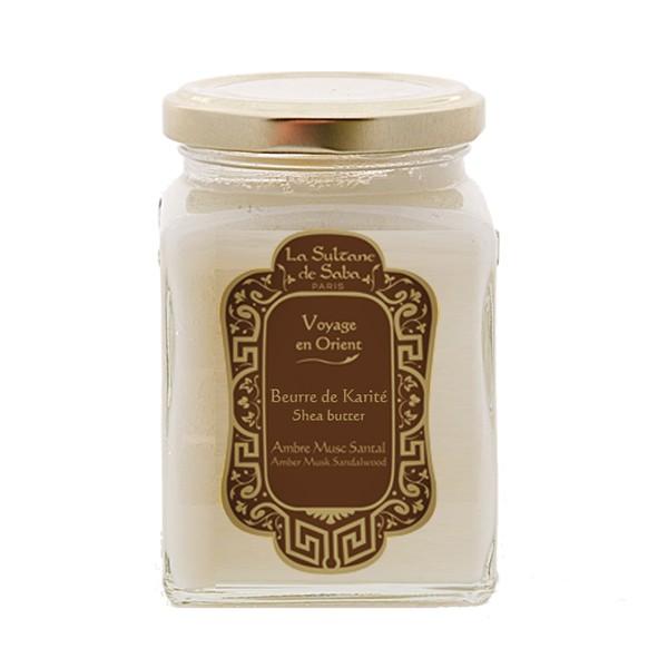Масло твердое ореха Карите для тела Амбра/Мускус/Сантал 300мл — La Sultanе De Saba Уход за телом Фотография