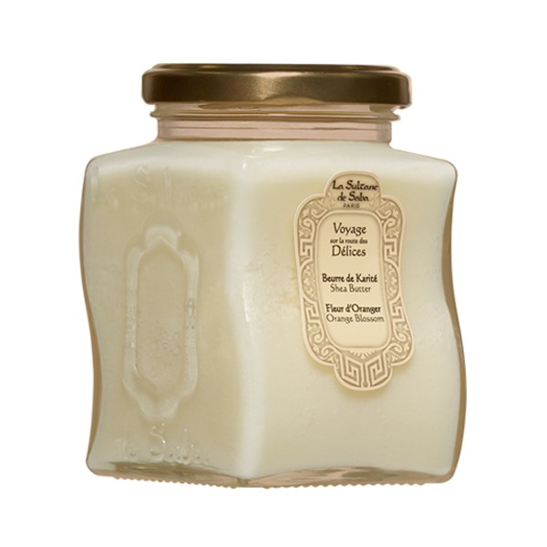 Масло твердое ореха Карите для тела Апельсиновые цветы 300мл — La Sultanе De Saba Уход за телом Фотография