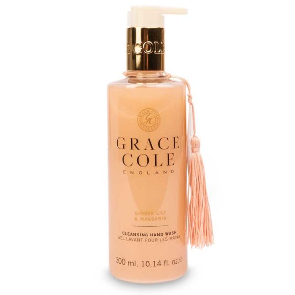 Мыло для рук Имбирная лилия и мандарин 300мл./Ginger Lily & Mandarin — Grace Cole Уход за телом Фотография