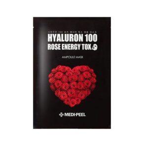 MEDI-PEEL Hyaluron 100 Rose Energy Tox (25g) Маска детокс с экстрактом розы и г/к Уход за телом Фотография