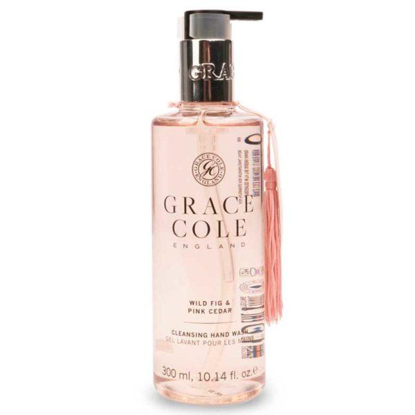 Мыло для рук Дикий инжир и розовый кедр 300мл./Wild Fig & Pink Cedar — Grace Cole Уход за телом Фотография