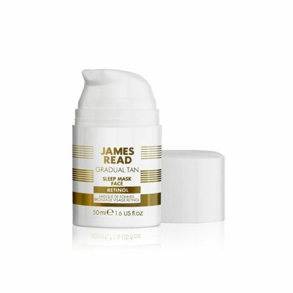 Ночная маска для лица уход и загар с ретинолом SLEEP MASK RETINOL 50 ML — James Read Уход за лицом Фотография