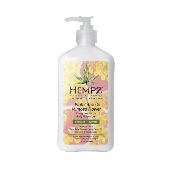 Молочко для тела увлажняющее Розовый Лимон и Мимоза — Hempz (500ml) — Hempz Уход за телом Фотография