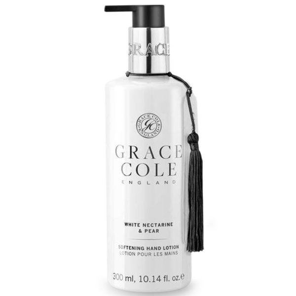 Лосьон для рук Белый нектарин и груша 300мл./White Nectarine & Pear — Grace Cole Уход за телом Фотография