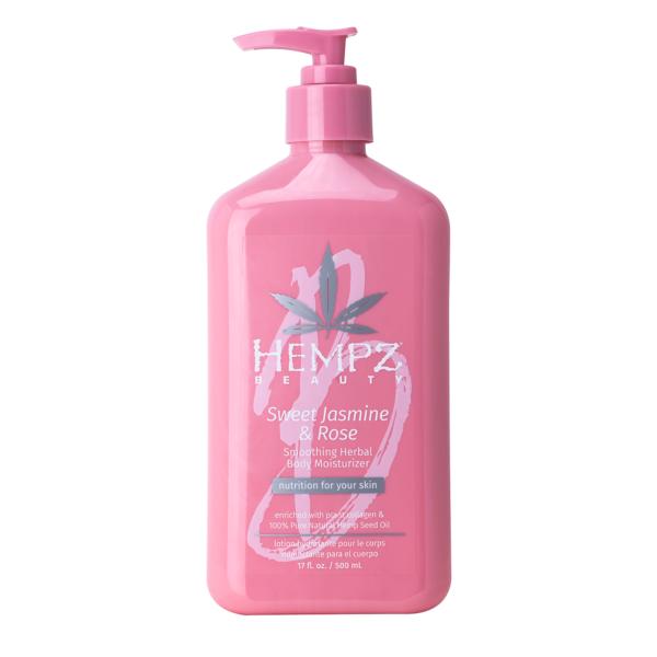 Молочко для тела увлажняющее Сладкий жасмин и Роза — Hempz (500ml) — Hempz Уход за телом Фотография