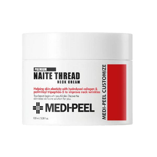 MEDI-PEEL Naite Thread Neck Cream (100ml) Моделирующий крем для шеи и зоны декольте Уход за телом Фотография