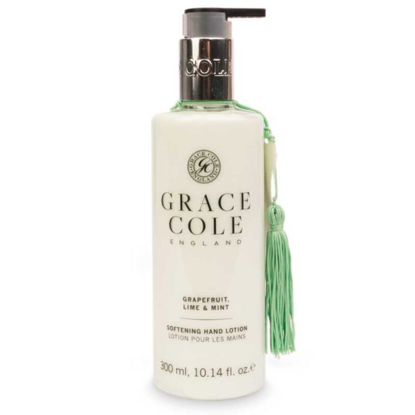 Лосьон для рук Грейпфрут, лайм и мята 300мл./Grapefruit Lime & Mint — Grace Cole Уход за телом Фотография