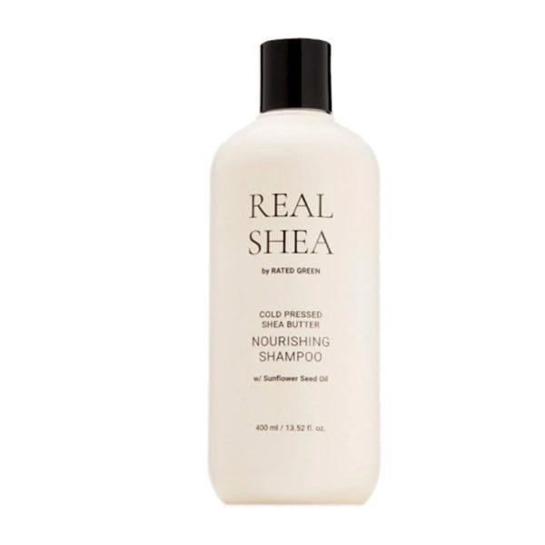 Питательный шампунь с маслом ши, 400 мл — Rated Green Уход за волосами Фотография